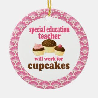 Ornamento del regalo del profesor de la educación  adorno