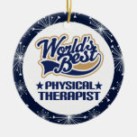 Ornamento del regalo del terapeuta físico adorno para reyes
