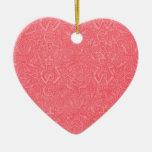 Ornamento del rojo de Triskel del vintage Ornamento Para Arbol De Navidad