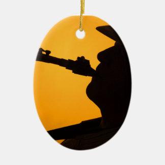 Ornamento del saxofón ornamento de reyes magos