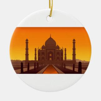 Ornamento del Taj Mahal Ornaments Para Arbol De Navidad
