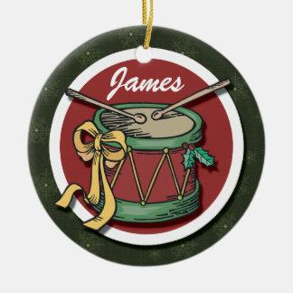 Ornamento del tambor del navidad ornaments para arbol de navidad