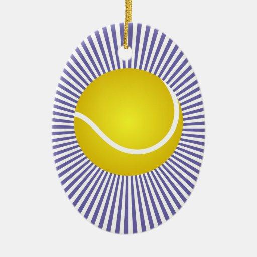 Ornamento del tenis - SRF Ornamento Para Arbol De Navidad