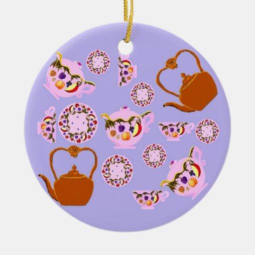 Ornamento del tiempo del té ornamente de reyes