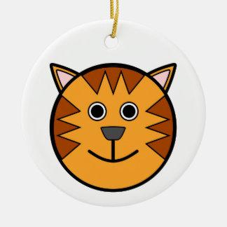 Ornamento del tigre adorno de navidad
