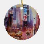 Ornamento del Times Square Ornaments Para Arbol De Navidad