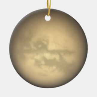 Ornamento del titán ornamento de navidad