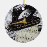 Ornamento del Trombone Adorno De Reyes