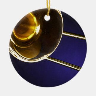 Ornamento del Trombone Adornos De Navidad