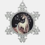 Ornamento del unicornio adorno