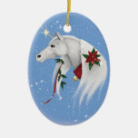 "Ornamento del unicornio de ""MagicalSnowfall"" Ornamentos De Reyes Magos"