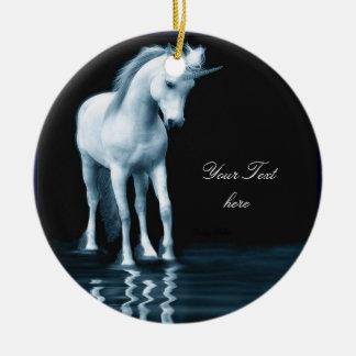 Ornamento del unicornio adorno para reyes