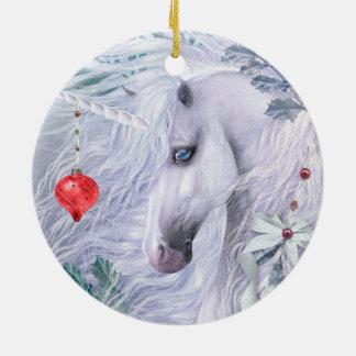 Ornamento del unicornio del navidad ornaments para arbol de navidad