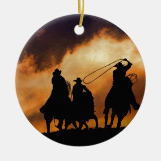 Ornamento del vaquero