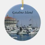 Ornamento del viaje de California CA de la isla de Adorno De Navidad