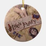 Ornamento del viaje de Lifes Ornaments Para Arbol De Navidad