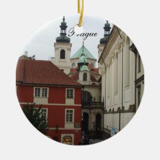 Ornamento del viaje de Praga Adorno De Reyes