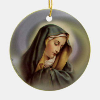 Ornamento del Virgen María 2 Ornamentos De Reyes Magos