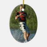 Ornamento del Wakeboarder del lago Adorno Para Reyes
