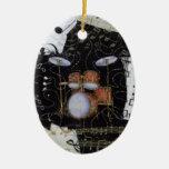 Ornamento determinado del tambor ornamente de reyes