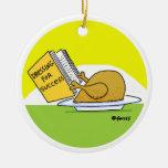 Ornamento divertido del árbol de navidad de Turquí Ornamentos Para Reyes Magos