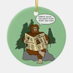 Ornamento divertido del árbol de navidad del dibuj adorno de reyes