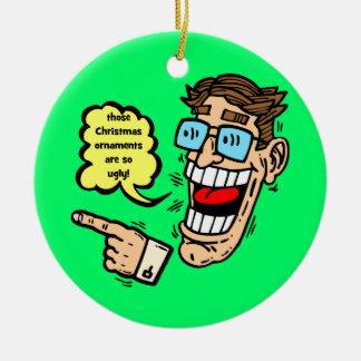 ornamento divertido del navidad ornamento de navidad