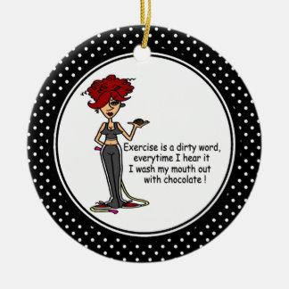 Ornamento divertido del navidad del humor del adorno de reyes