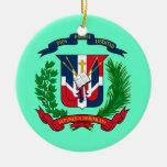Ornamento DOMINICANO del navidad de REPUBLIC* Ornamento Para Arbol De Navidad