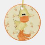 Ornamento Ducky del día de fiesta Ornato
