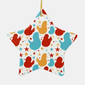 Ornamento dulce del navidad de los pájaros de la adorno para reyes