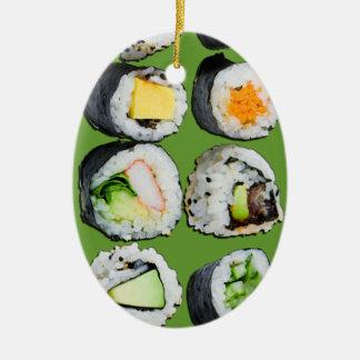 Ornamento dulce estupendo del sushi ornamento de reyes magos