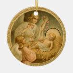 Ornamento: El amor bajó en el navidad Ornamente De Reyes