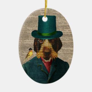 Ornamento el señalar Griffon Wirehaired Ornamento De Navidad