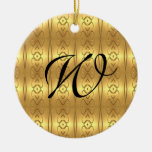 Ornamento elegante de la familia adorno de navidad
