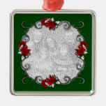 Ornamento elegante del recuerdo del marco del KRW  Adorno De Navidad