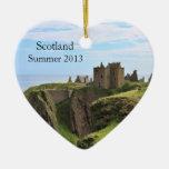 Ornamento en forma de corazón de la foto de Escoci Adorno Para Reyes