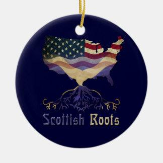 Ornamento escocés americano de las raíces ornamentos de reyes magos