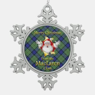 Ornamento escocés del navidad de MacLaren del clan Adorno