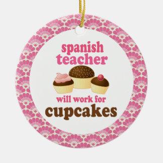 Ornamento español del regalo del profesor ornatos
