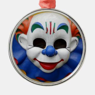 Ornamento espeluznante del navidad del payaso ornamente de reyes