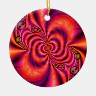 Ornamento espiral celular (círculo) ornamentos de reyes magos
