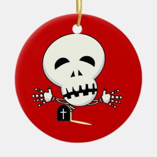 ornamento esquelético adorno de navidad