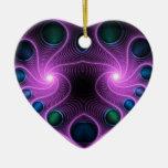 Ornamento estéreo del árbol del rosa del fractal d adorno para reyes
