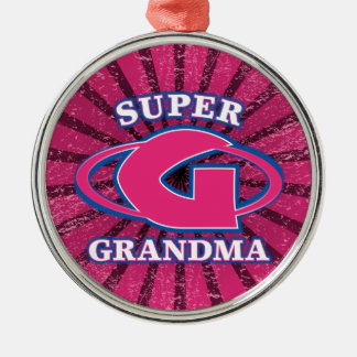 Ornamento estupendo de la abuela adorno de navidad