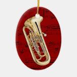 Ornamento - Euphonium - escoja su color Adornos De Navidad