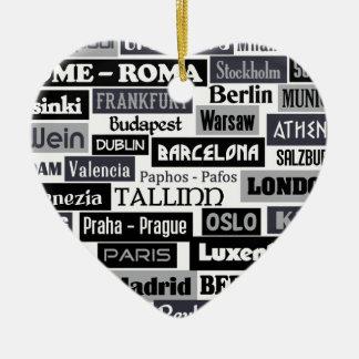 Ornamento europeo del personalizado del viajero ornamente de reyes