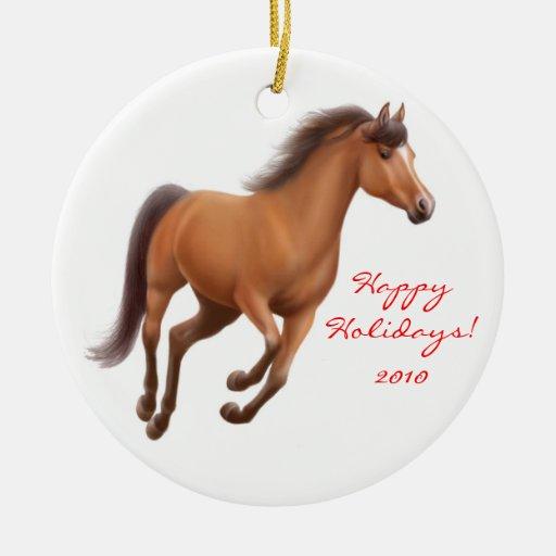 Ornamento excelente galopante del caballo de la ornamento de reyes magos
