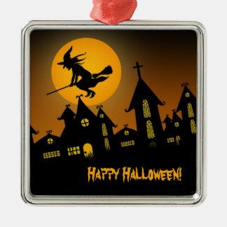 Ornamento fantasmagórico de Halloween 2 Ornamentos De Navidad