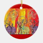 Ornamento feliz del desfile del elefante adorno para reyes